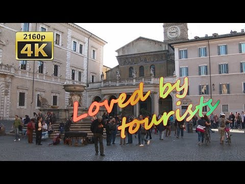 Trastevere, Roma - Italy 4K Travel Channel