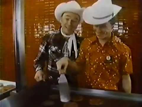 Roy Rogers Family Restaurant 1978 TV Commercial