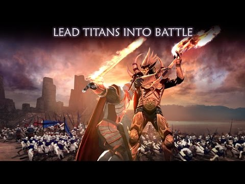 Dawn of Titans - Action/Strategy   Android / iOS GamePlay Trailer