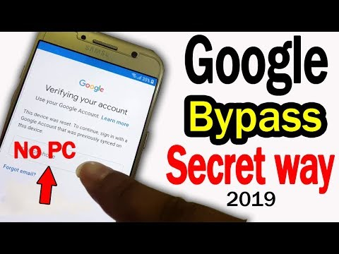 ►New Way 2019 ► FRP BYPASS,Without Talkback,Without PC - Android Unlock
