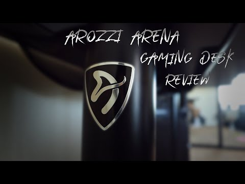 Arozzi Arena Gaming Desk Review | Is it Worth the Money? thumbnail
