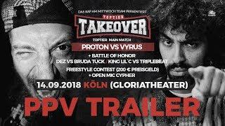 TopTier Takeover Köln 14.09.18 - PPV Trailer