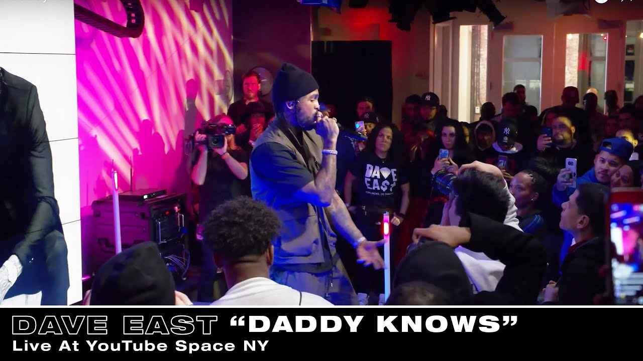 Dave East - Daddy Knows (Live At YouTube Space NY)
