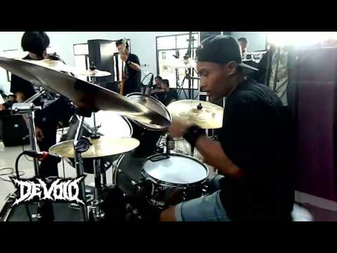 DEVOID DM Drum Cam  Cover by Iqbal Setya (Carnivored-Heresy Of The Priest) Live at Harmony Party #1