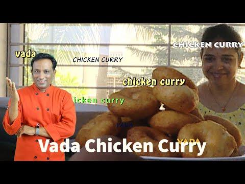 super-light-vada-with-chicken-curry---dahi-vada---chicken-curry-recipe---kodi-kura-chitti-gaare