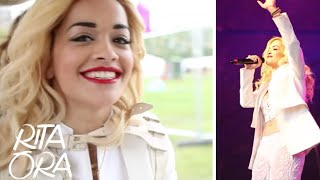 RITA ORA | Lovebox Festival 2012! [Video Diaries 004]