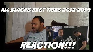 All Blacks - Best Tries 2012-2014 REACTION!!!