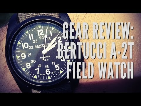 Gear Review: Bertucci A-2T Titanium Field Watch