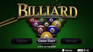 Pool BILLIARD Trailer - Nintendo Switch