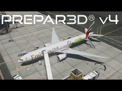 Prepar3D v4.3   Dubai to Rio de Janeiro   OMDB-SBGL   PMDG 777-300ER   P3D