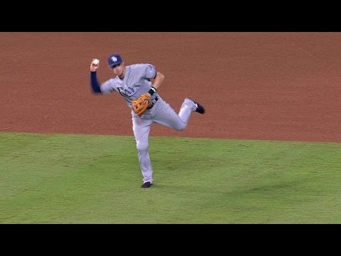 TB@KC: Longo charges a slow roller and makes the play