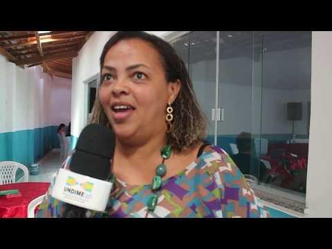 Cláudia Cristina no EDUCAVAL de Nova Itarana falando da BNCC