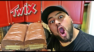 DIY GIANT TWIX BAR!!