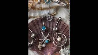 BodyJ4You Belly Button Ring Collection Super Cute Tribal Dangle for Navel Piercing BN1503