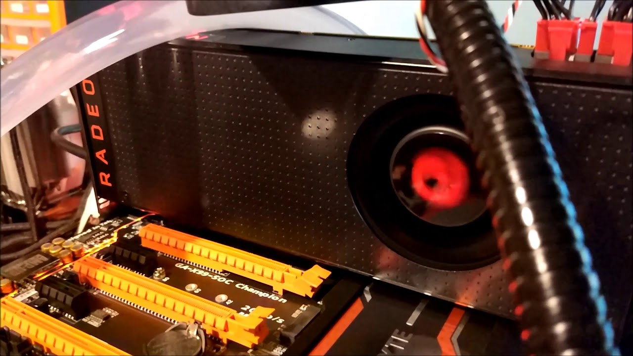 How to Flash RX Vega 56 to Vega 64 More Power Extra HBM Voltage and Unlock  Shaders