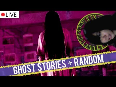 Real life ghost stories! A recording of the livestream