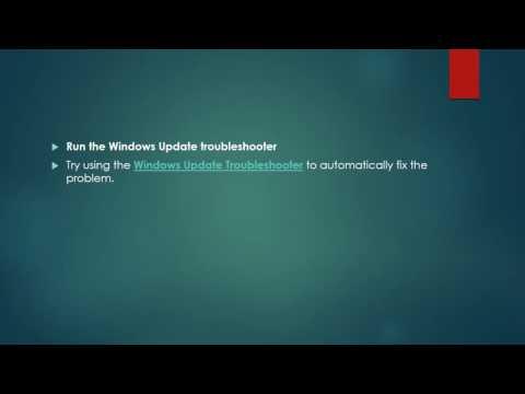 Error code 0x80072efd during windows update- Fix it now