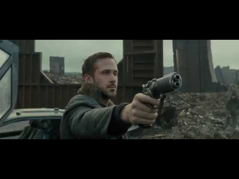 Blade Runner 2049 - Flying Car to San Diego Junk Yard Scene