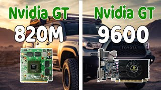 GTA V Benchmark Test ( Geforce GT 9600 512MB Better Then Geforce GT 820M ) ???