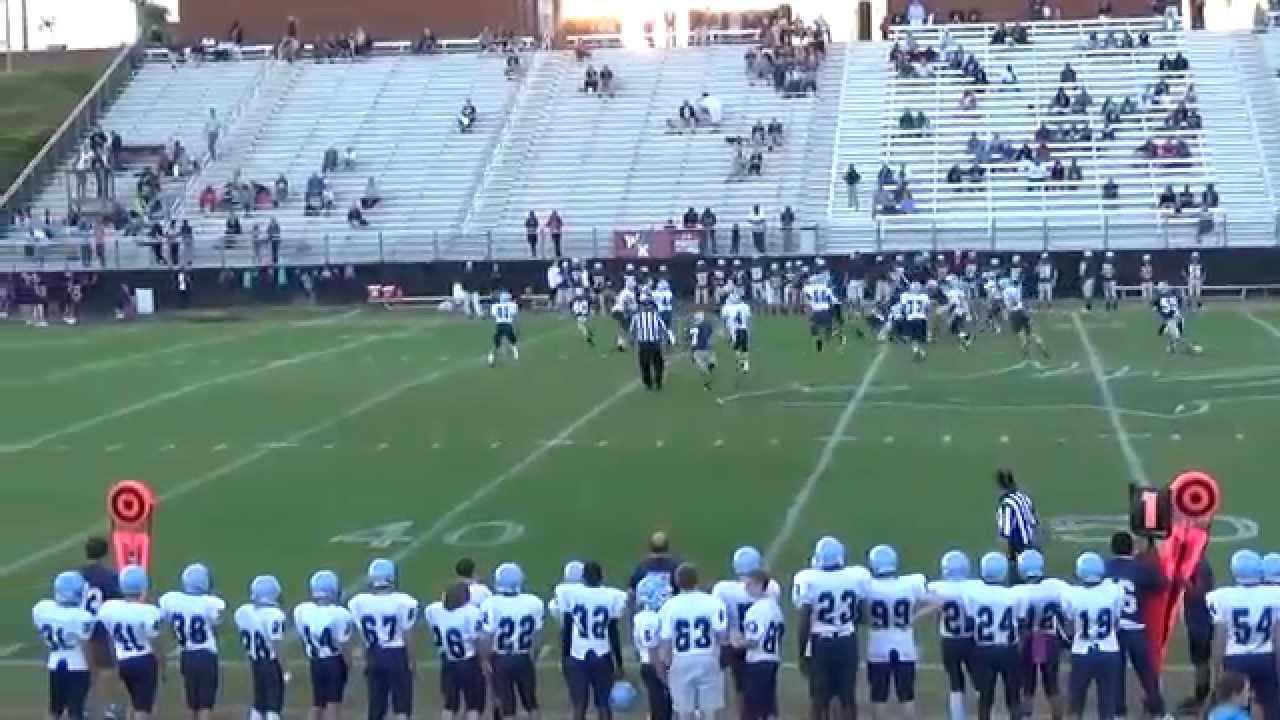 Chapin vs. Carolina Springs middle school 10/15/2014 (Columbia, SC ...