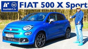 2020 Fiat 500X Sport 1.6 Multijet 88kW/120PS DCT - Kaufberatung, Test deutsch, Review, Fahrbericht