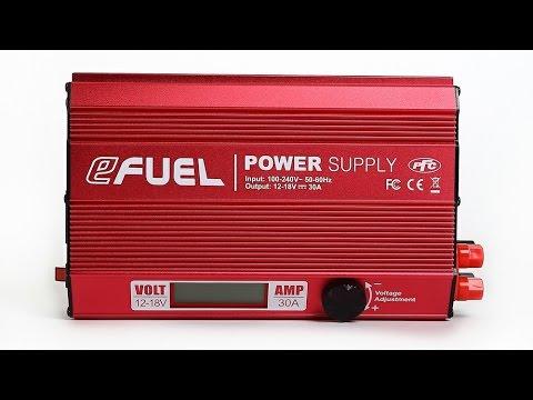 Diamond Hobby / EFUEL 30 AMP Power Supply Review By: RCINFORMER
