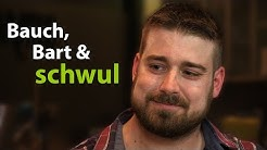 Bart, Bauch und schwul  - Achim (Mr. Bear 2016) im Thekentalk