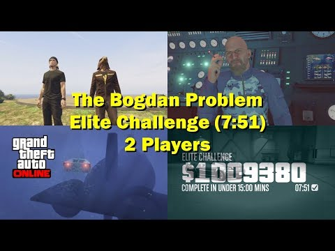 GTA5 Online The Bogdan Problem Glitch 01 10/23 (PS4 Pro 4K 60Hz )