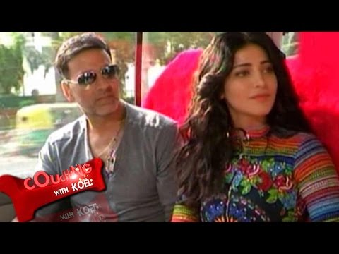Couching With Koel: Akshay Kumar, Shruti Hassan On Gabbar Is Back