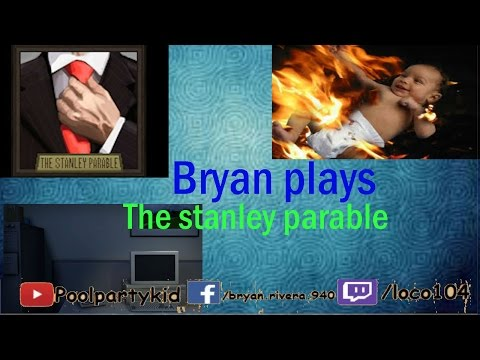 Bryan Plays The Stanley parable