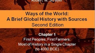 Chapter 1: First Peoples, First Farmers