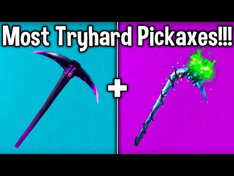 10 MOST TRYHARD PICKAXES In CHAPTER 2! (Fortnite Sweaty Harvesting Tools)