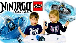 Лего Ниндзяго Кружитцу Волчки  Джей и Ния Lego Ninjago Master of Spinjitzu Nya and Jay