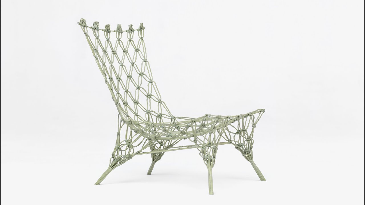 """knotted chair by marcel wanders was """"a little miracle"""" - youtube"""