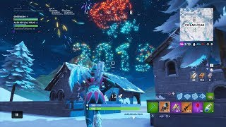 Unlocking Day 12 Gift Of 14 Days Of Fortnite + Fortnite Start New Years Early