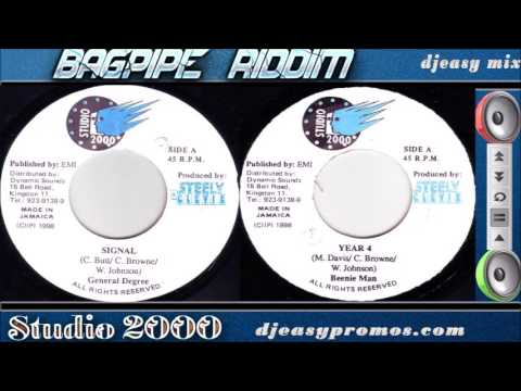 Download Bagpipe Riddim mix 1998 — Studio 2000— mix by