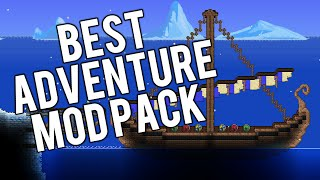 Super Terraria World! Mod Pack | Modded Terraria 1.3 Adventure Map!