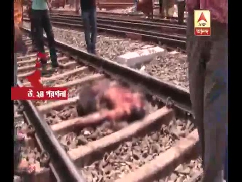 2 unknown young boy and girl died at Barasat in Train accident