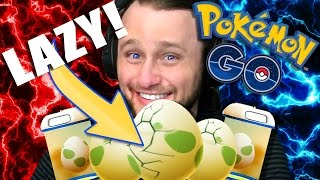 POKEMON GO - Lazy way to Hatch Eggs!! | +Gengar Evolution!! | +7 x 10km Eggs!! [13] thumbnail