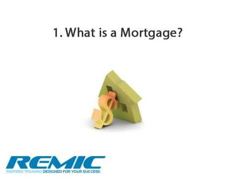 Basic Mortgage Concepts Presentation - Ontario Mortgage Agent Course