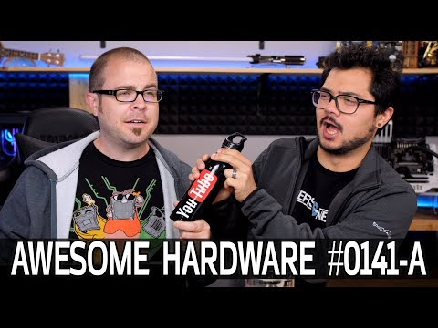 Awesome Hardware #0141-A: Handheld LINUX Gaming PC, H500P MESH, 16,000mAh Smartphone?!