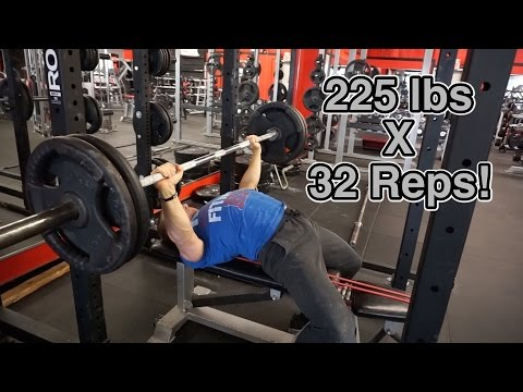How to Bench Press 225lbs Like an NFL Linebacker - Hunt Fitness