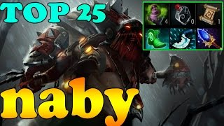 Dota 2 - TOP 25 Pudge in Dotabuff Vol 1 - Pub Match Gameplay!