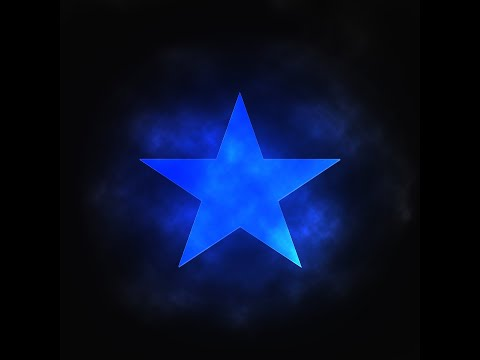 How To Make A Glowing Star In Photoshop.