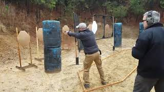 USPSA at Riverbend gun club. 3rd place in my division