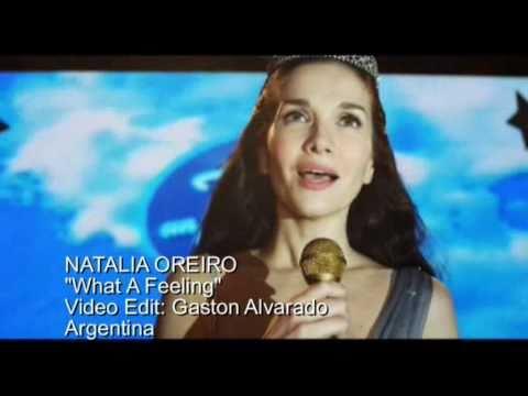 Клип Natalia Oreiro - What a Feeling
