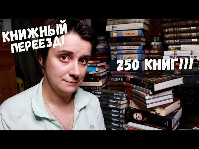 БОЛЬШОЙ КНИЖНЫЙ ПЕРЕЕЗД! НОВЫЙ ДОМ, НОВЫЙ ШКАФ, 250 КНИГ