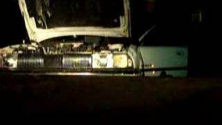 Blowing up a Chevy Quad4  motor in oldsmobile achevia no oil