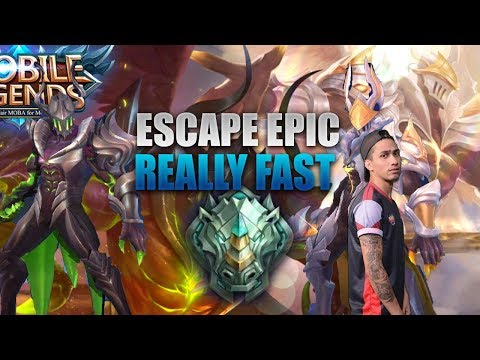 ESCAPE EPIC REALLY FAST ! - 1000 Diamonds Giveaway - Mobile Legends - Guides - Tips - Rank