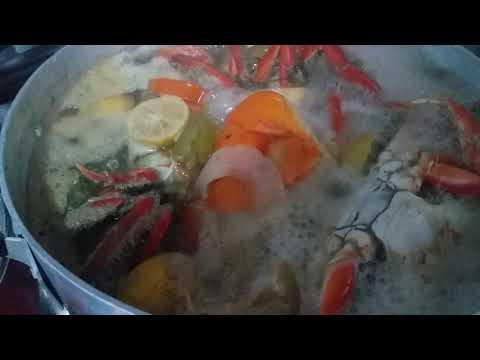 Cozinhando caranguejo festa de Reis família Ramos Japaratuba Japaratuba Sergipe